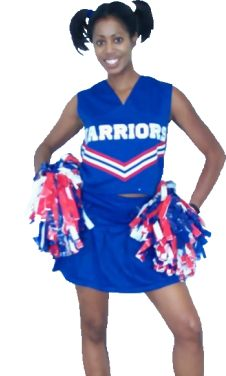 ebony cheerleader is a black cheerleader!